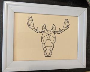 Geometric moose wall decor for Sale in Denver, CO