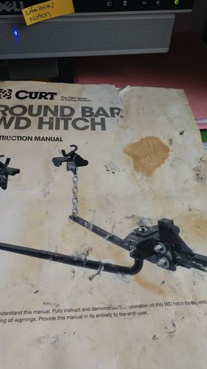 Curt Round bar WD Hitch, sway bars for Sale in Tampa, FL