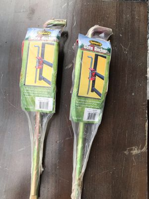 SpeeCo Gate Anchors $12 each for Sale in Plantation, FL