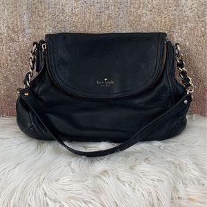 Black Leather Kate Spade Purse for Sale in Casa Grande, AZ