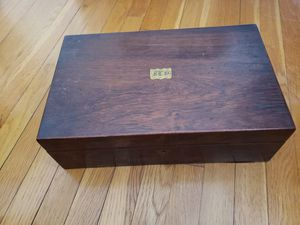 Antique Rosewood Writing Lap Desk Box for Sale in Chelmsford, MA