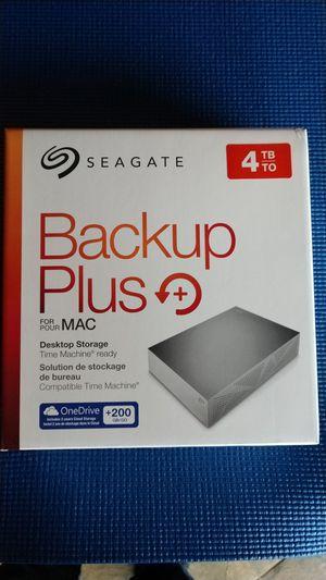 Seagate 4TB Desktop external hard drive for MAC for Sale in Chelan, WA