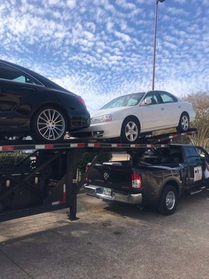 2018 kaufman 4 car trailer mint condition for Sale in Miami, FL