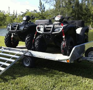 2 Sport ATV's w/Trailer.4-1200$ for Sale in Annandale, VA