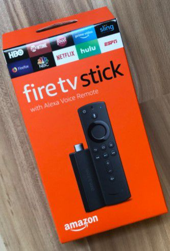 Brand New Amazon Fire TV Sticks with Alexa Remote (Unlocked and Jailbroken)