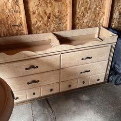 6 Drawer Dresser With Mirror for Sale in Riverside,  CA
