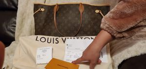 Louis Vuitton Neverfull M40157 Gm Monogram Brown Coated Canvas Tote for Sale in San Antonio, TX