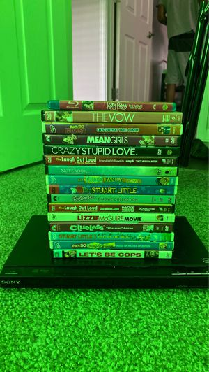 DVD PLAYER & 20 DVD'S BUNDLE! for Sale in Hillsboro, OR