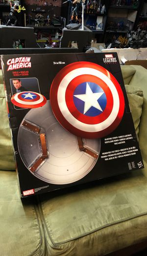 Marvel legends captain America's shield for Sale in San Diego, CA