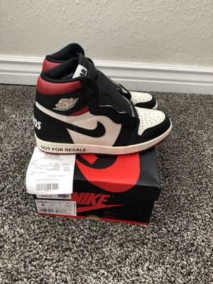 """Air Jordan 1 """"Not For Resale """" (Red) Size 8 w/ Receipt for Sale in Broomfield, CO"""