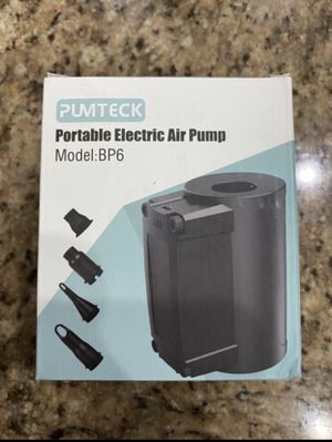 Electric Air Pump Wireless Rechargeable Portable Pump for Inflatables, Inflator Deflator Air Mattress Pump with 4 Nozzles for Floats,Raft,Yoga Balls for Sale in Winter Garden, FL