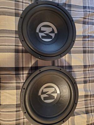 "2 Memphis Audio 12"" Subwoofers 15-PR12D4V2 for Sale in Seattle, WA"