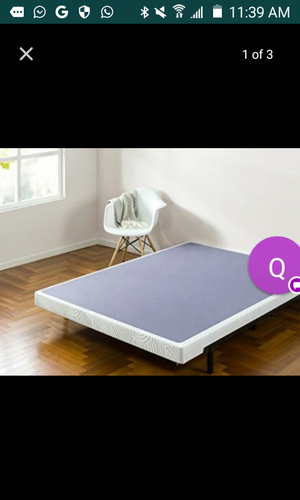 Cal king box spring for Sale in Columbus, OH