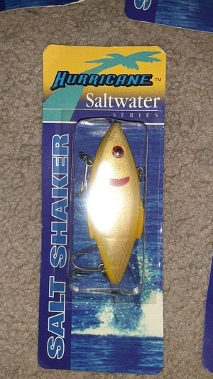 Hurricane saltwater series fishing lures for Sale in Suitland-Silver Hill, MD