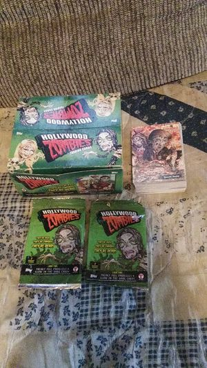 2007 Topps Hollywood zombies complete card set for Sale in Hedgesville, WV