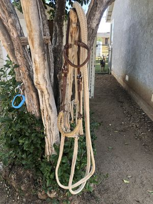 Loping Hackamore w/Rawhide Nose Band for Sale in Jurupa Valley, CA