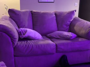 Sectional couch + love seat $300 for Sale in Marietta, GA