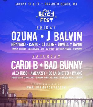 Baja Beach Fest Ticket for Sale in City of Industry, CA
