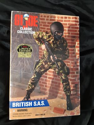 """G I Joe classic collection 12"""" British S A S action figure for Sale in Aurora, CO"""