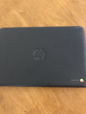 Selling my chromebook laptop hp for Sale in Montclair, CA