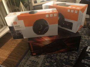 JBL CAR AUDIO BUNDLE MSRP $750+ for Sale in Santa Ana, CA