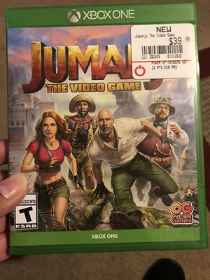 Jumanji the video for Xbox one for Sale in Fresno, CA