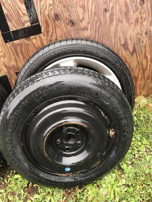 Spare + 4 wheels 5x100 off '09 Subaru Legacy for Sale in Shoreline, WA
