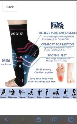 High Arch Support Foot Compression Sleeves for Sale in Compton, CA