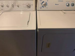 Kenmore washer and Amana dryer for Sale in El Paso, TX