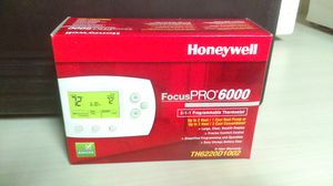 HONEYWELL FOCUS PRO 6000 THERMOSTAT - 4 for Sale in Detroit, MI