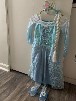 Elsa's costume for Sale in Virginia Beach, VA