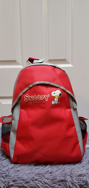 Brand New Peanuts Snoopy And Woodstock UFS Red Backpack $28.00 for Sale in Gardena, CA