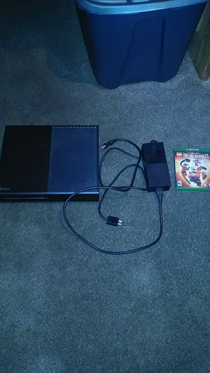 Xbox one black for Sale in Hemet, CA