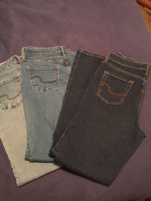 Women's 14 long Levi's at waist bootcut jeans for Sale in Anaheim, CA