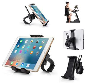 All-in-One Indoor Cycling Bike iPad/iPhone Mount, Portable Compact Tablet Holder for Gym Handlebar on Exercise Bikes & Treadmills, 360° Swivel Stand for Sale in Hacienda Heights, CA