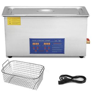 VEVOR Ultrasonic Cleaner 30L Commercial Ultrasonic Cleaner Total 1200W for Cleaning Eyeglasses Rings Large Capacity Heated Ultrasonic Cleaner for Sale in Los Angeles, CA
