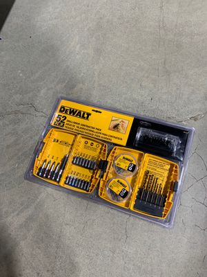 Dewalt 52 piece drill drive ContractorTools for Sale in Albany, NY