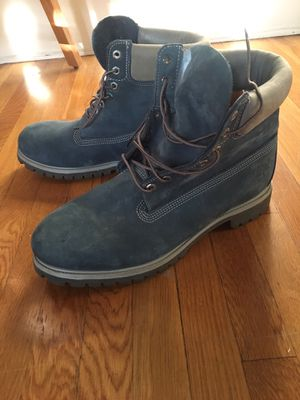 Blue Timberland Boots Size 13 (Exclusive) for Sale in Los Angeles, CA