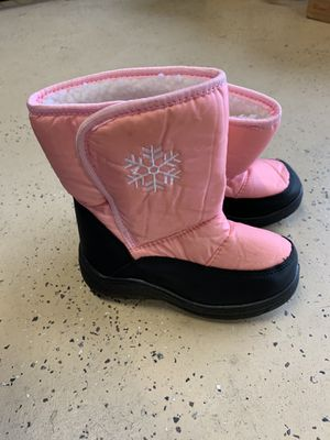 Girls Snow Boots Size 11c for Sale in Antioch, CA