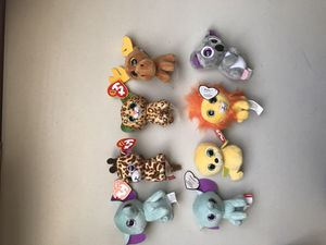 8 soft toys for Sale in Los Angeles, CA