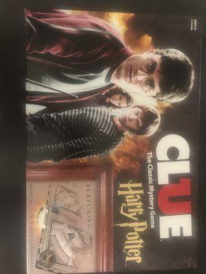 Harry Potter clue board game for Sale in Denver, CO