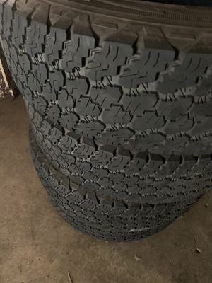 245 75 17 Goodyear tire set (4) for Sale in Ontario, CA