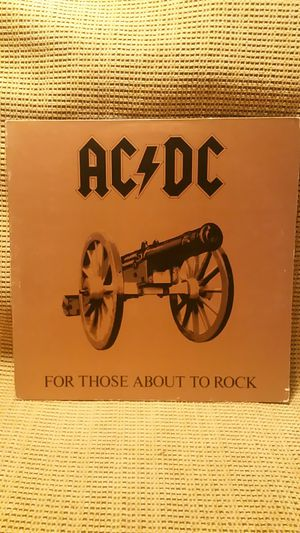 """AC/DC """"For Those About to Rock We Salute You"""" vinyl record for Sale in San Diego, CA"""