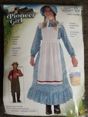 Pioneer costume with bonnet for Sale in Oreland, PA