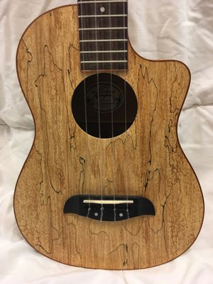 Oscar Schmidt OU8TLCE Spalted Maple Acoustic-Electric Tenor UKULELE for Sale in Miami, FL