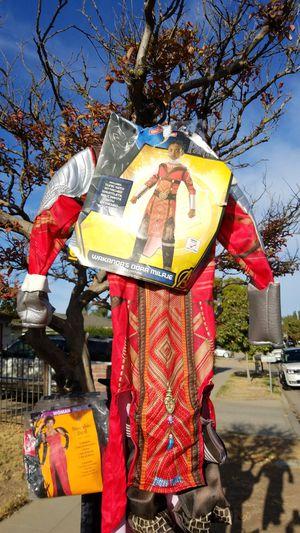 Wakanda child costume sz sm for Sale in Fresno, CA