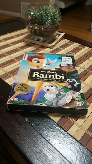 Bambi 2 Disc Special Edition DVD for Sale in Cicero, IL