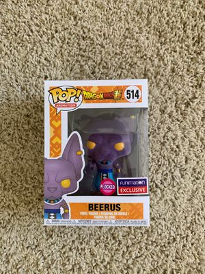 Funko Pop Beerus Flocked Dragon Ball Z Funimation Exclusive for Sale in North Tustin, CA
