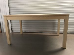 IKEA Expandable Wood Table (Leaves Included) for Sale in Gilbert, AZ