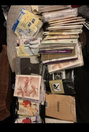 Lots of 80 woman's stockings for Sale in Otego, NY